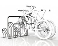 Compact Fully Welded 4 Bike Rack