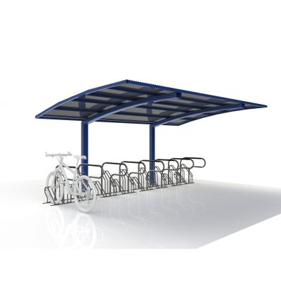 Single Sided Access Bike Shelter